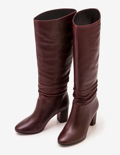 Albemarle Heeled Boots - Oxblood