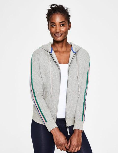 Sweatshirt mit Seitenstreifen Grey Damen Boden, Grey