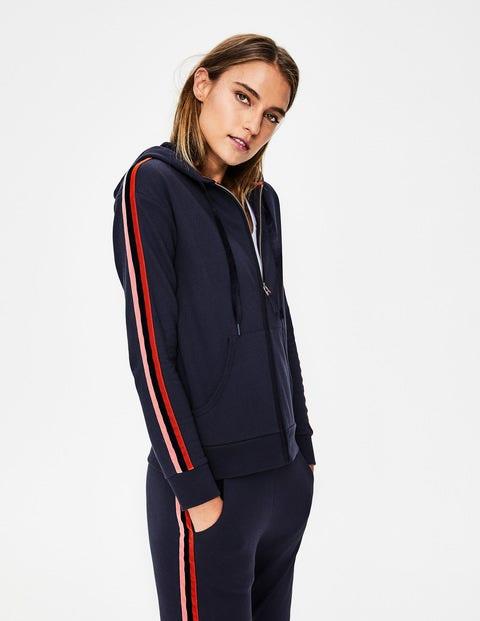 Side Stripe Sweatshirt - Navy
