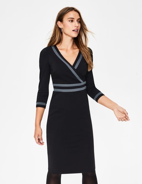 4f8921ce976 Nellie Ponte Dress - Black