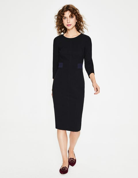 Laura Ottoman Dress - Black