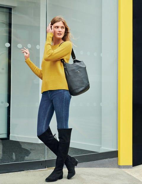 Heidi Sweater - English Mustard