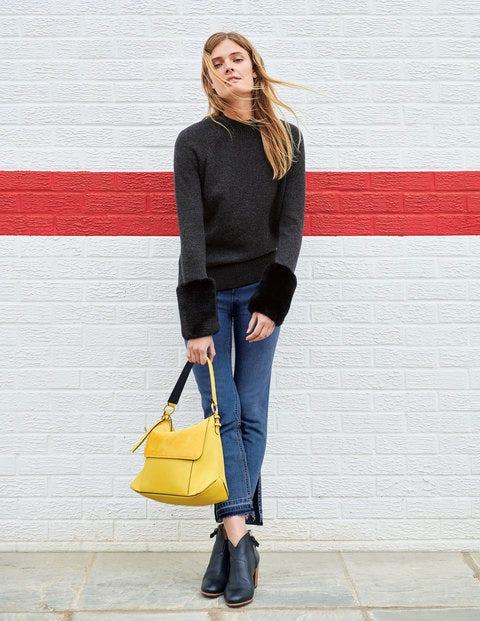 Benedicta Sweater - Charcoal Melange
