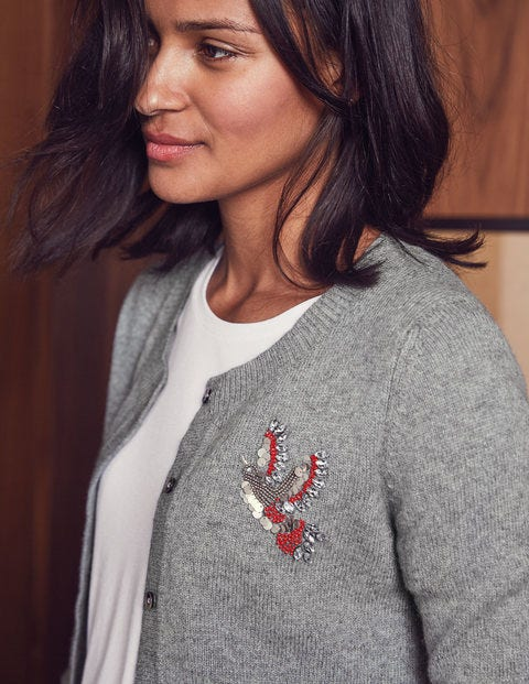Nell Embellished Cardigan K0189 Sweaters At Boden