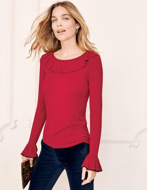 Lavinia Sweater - Poinsettia