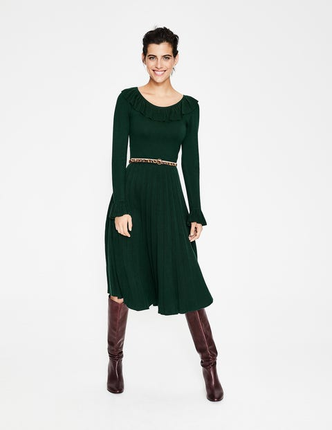 Lavinia Dress - Chatsworth Green