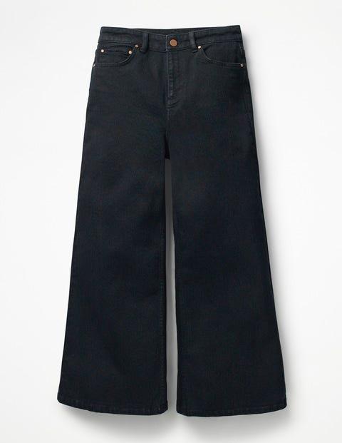York Cropped Jeans - Black (BN035)