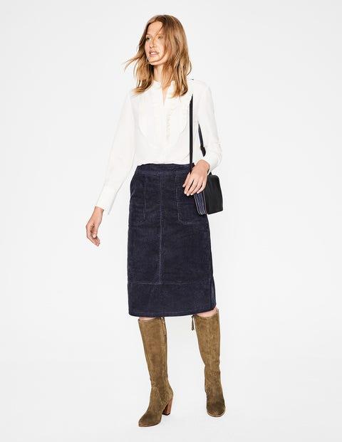 Burston Skirt - Whale Grey