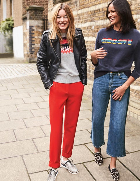 Mayford Pants - Post Box Red