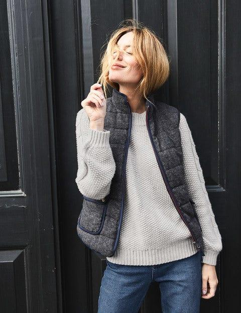 Dalham Vest - Tweed