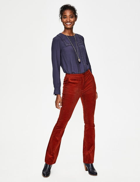Stirling Cord Pants - Conker