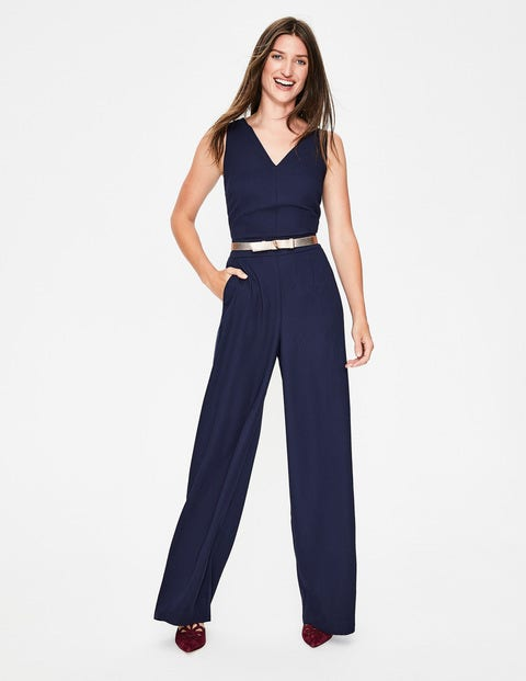 Hexham Jumpsuit - Navy