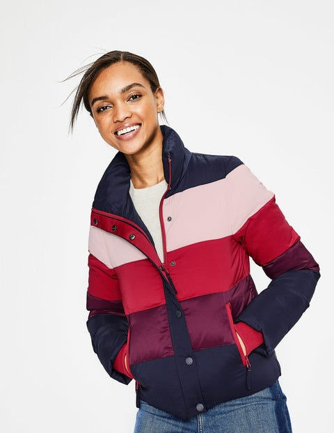 Arundel Puffer Jacket - Colourblock