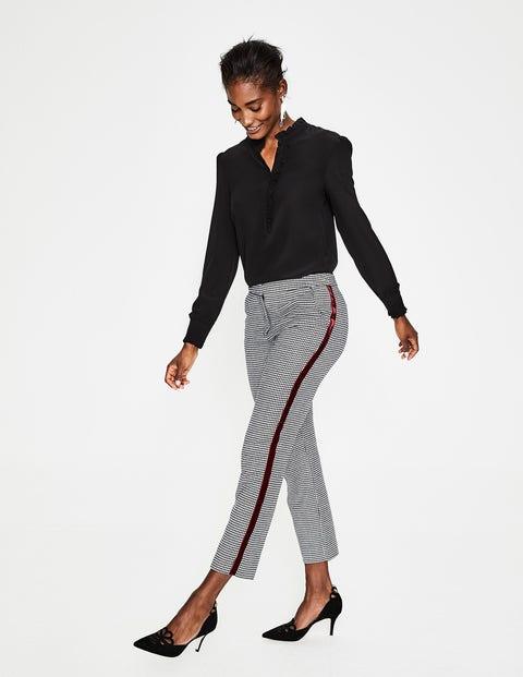 Romaine Silk Shirt - Black