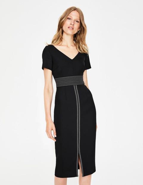Winsford Midi Dress - Black