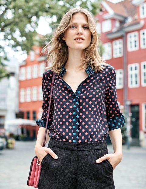 Silk Shirt - Blush Regular Spot