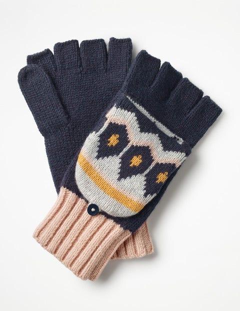 Handschuhe mit Fair-Isle-Muster A0372 Mützen, Schals & Handschuhe ...