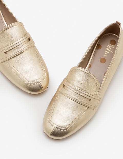 Georgina Loafer - Gold-Metallic