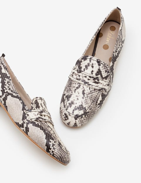 Georgina Loafers - Snake