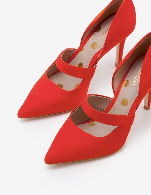 Adrianna Heels - Red Pop