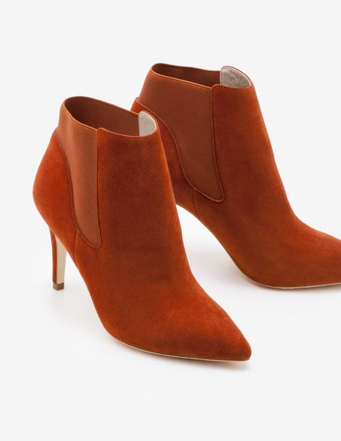 Elsworth Ankle Boots - Conker