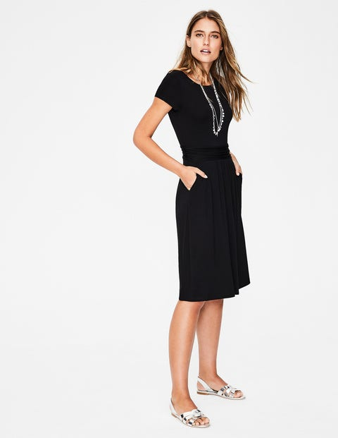 10002ccb24 Amelie Jersey Dress - Black