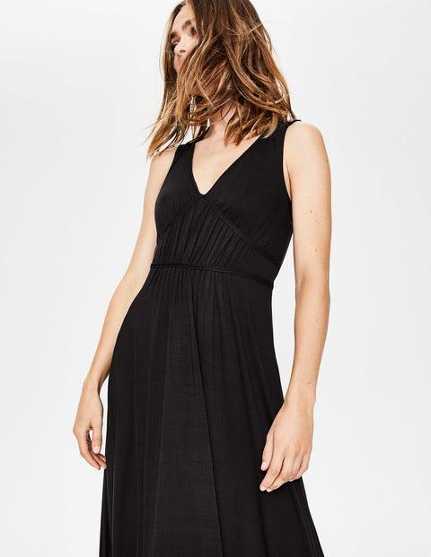 deb20a77c74 Elina Jersey Midi Dress - Black | Boden US