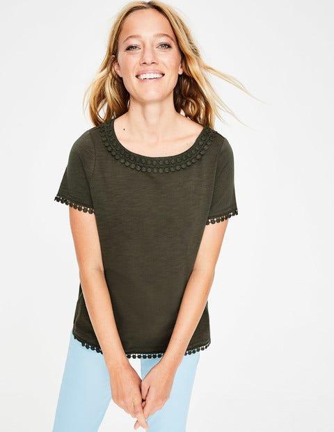 Thelma Jersey T-Shirt - Khaki