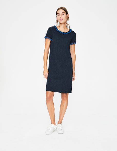 Bridget Jersey Dress - Navy