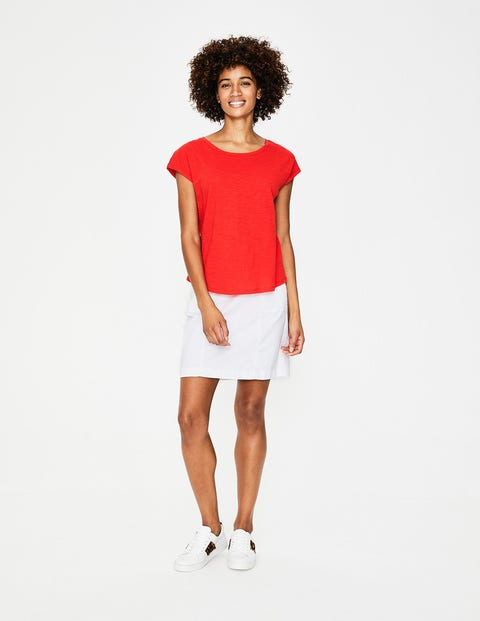The Cotton Tee - Red Pop