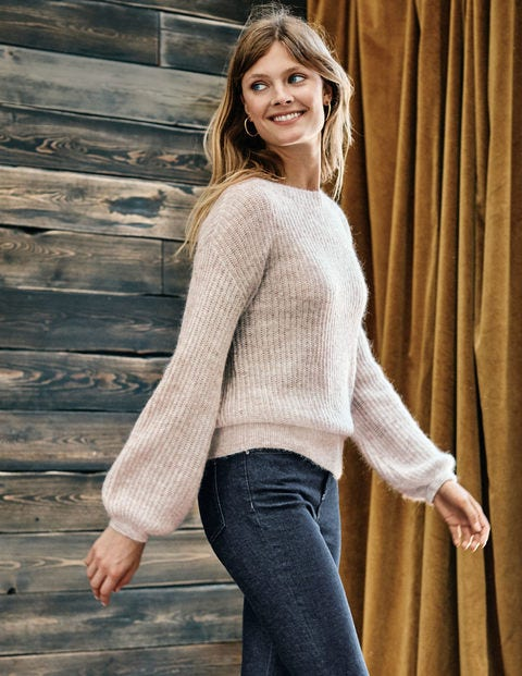 Francesca Sweater - Oatmeal Melange