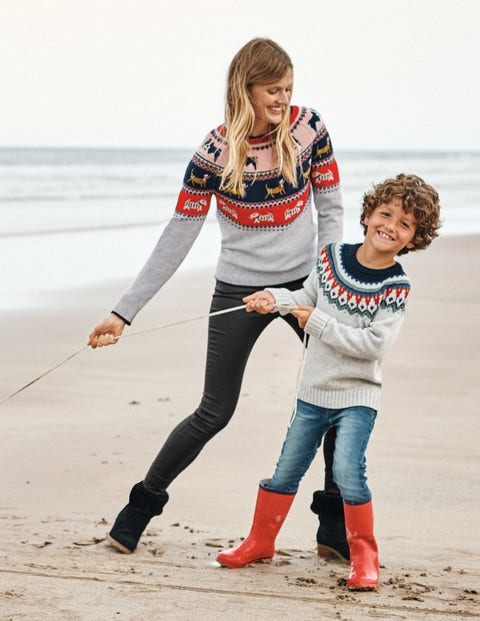 Christmas Fair Isle Jumper - Dog Fair Isle