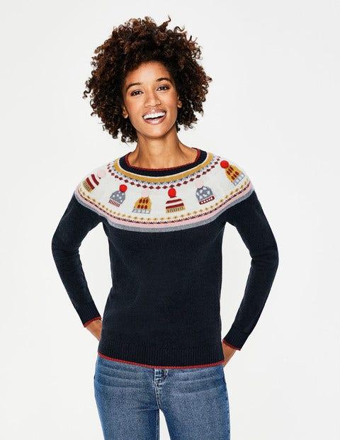 Fair Isle Christmas Sweater.Christmas Fair Isle Sweater Hat Fair Isle Boden Us