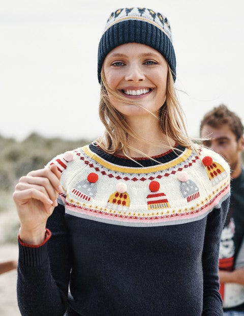 Christmas Fair Isle Jumper - Hat Fair Isle