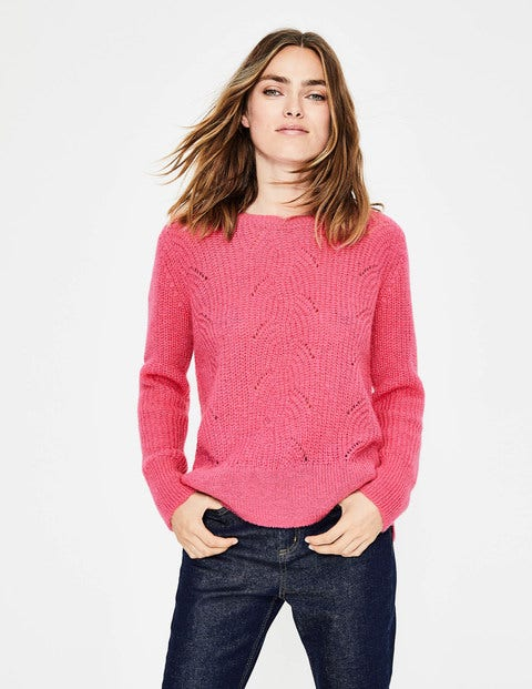 Hadley Sweater - Garden Rose