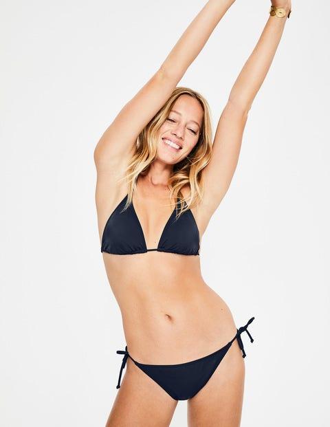 String Bikini Top - Navy