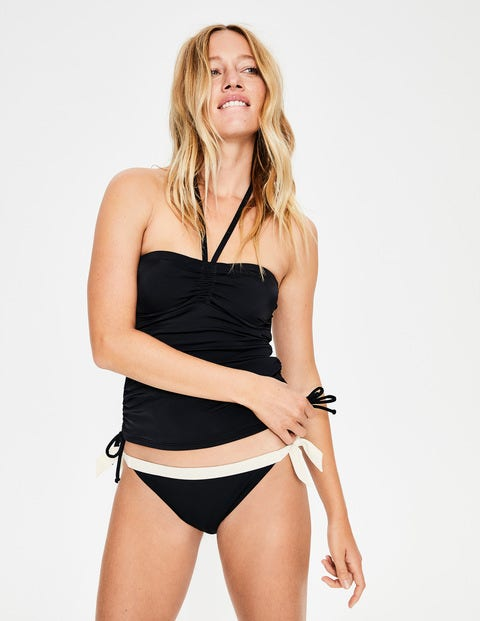 Sardinia Tankini Top - Black