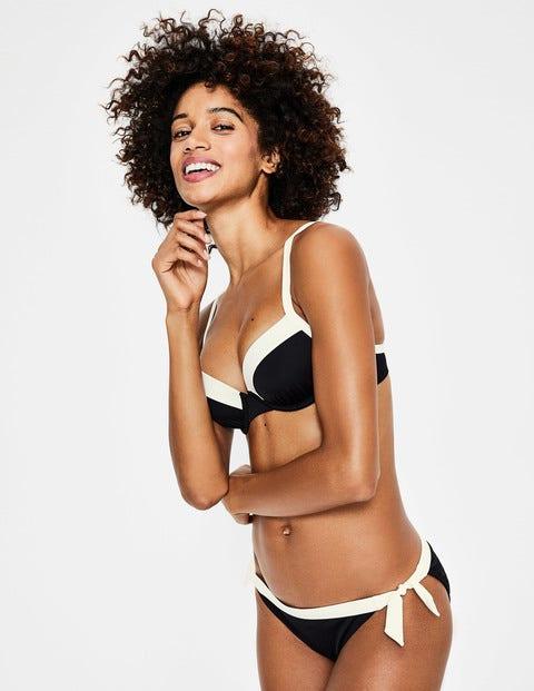 aad16ed47cf93 Milos Cup-Size Bikini Top - Black | Boden UK