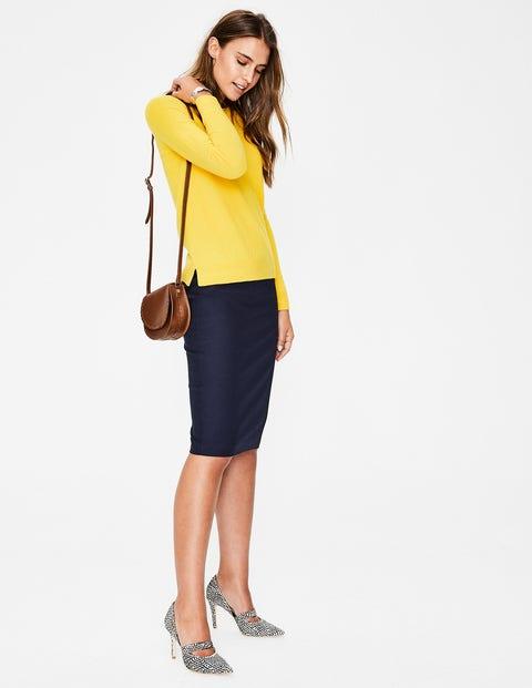 Richmond Pencil Skirt - Navy