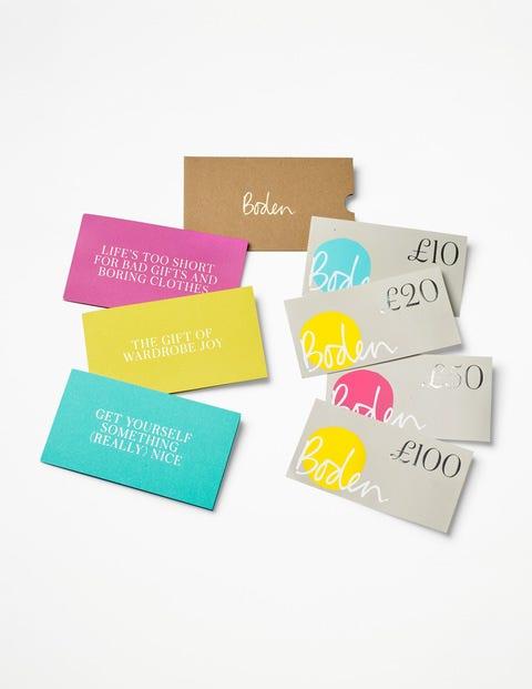 Gift Voucher - Card