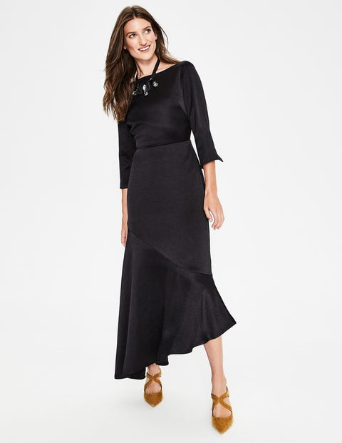 Rebecca Satin Maxi Dress