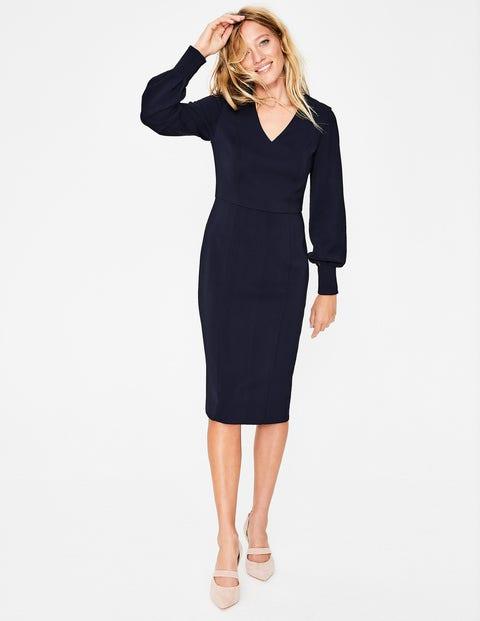 Hannah Dress - Navy