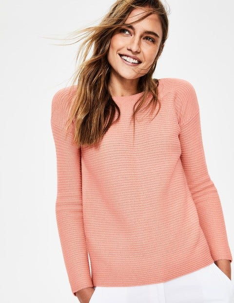 Iona Jumper - Chalky Pink