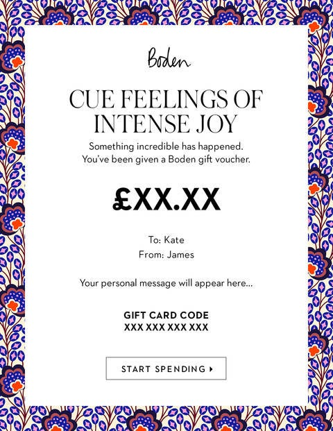 E Gift Voucher - Island Bloom