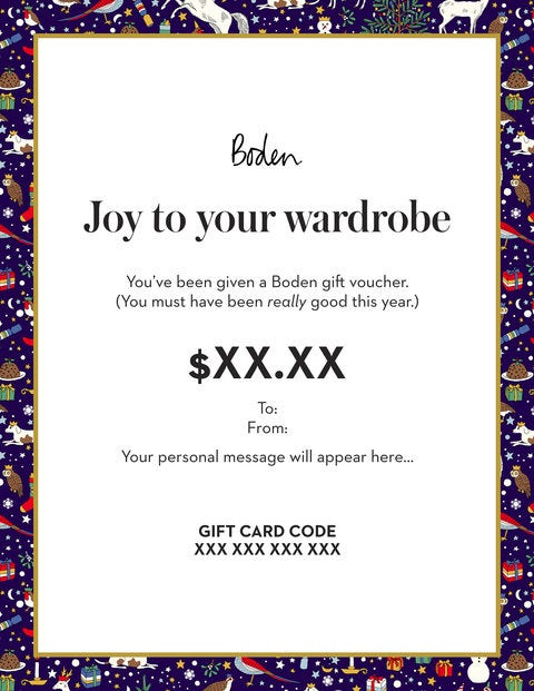 E Gift Card - Deck the halls