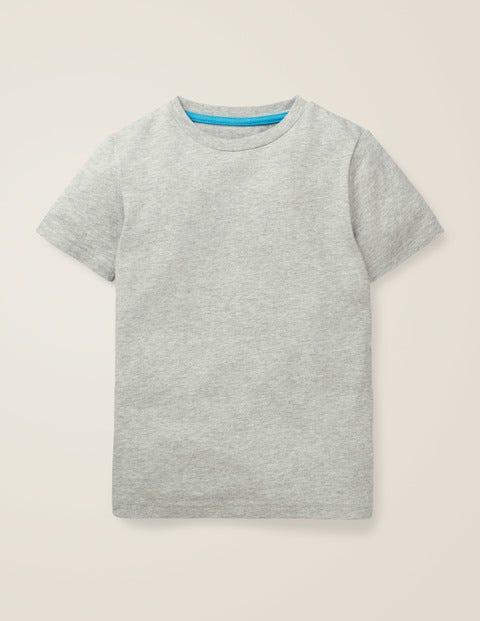 Slub Washed T-Shirt - Grey Marl
