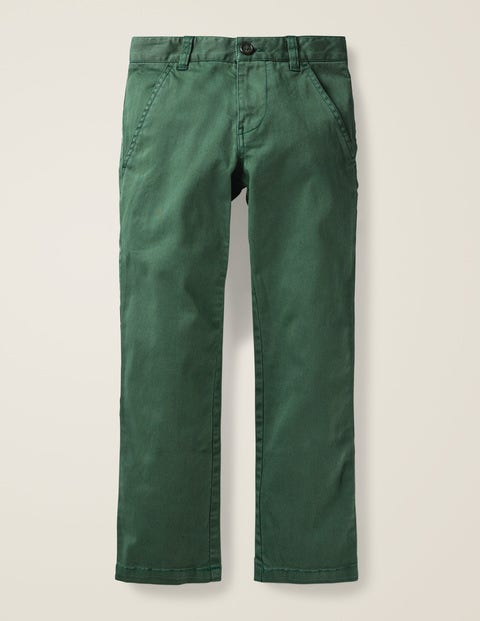 Chino Trousers - Safari Green