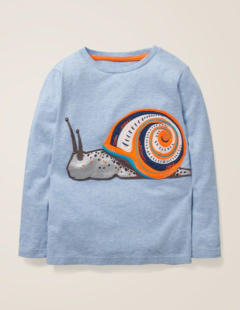 Awesome Animal T-Shirt - Provence Blue Snail
