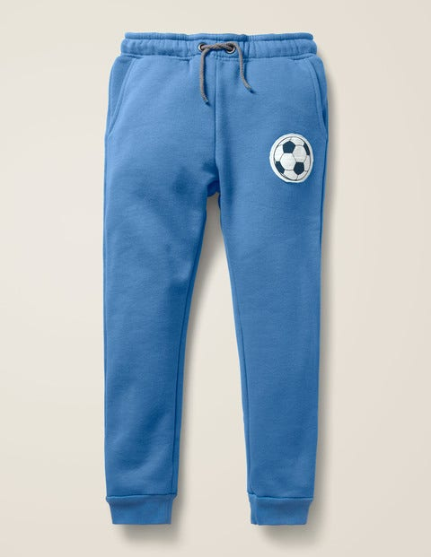Football Detail Joggers - Elizabethan Blue Football