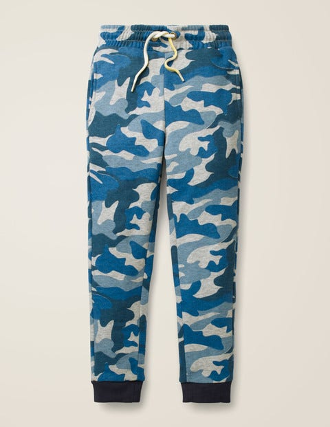 Everyday Joggers - Grey Marl/Blue Camo